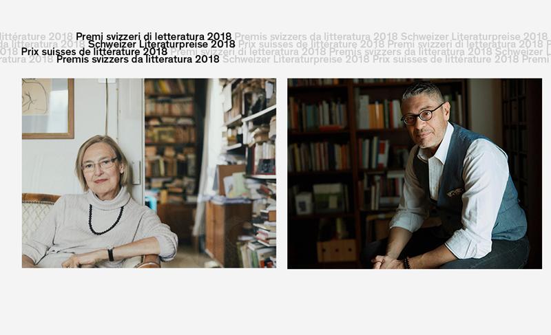 Incontro con i Premi Svizzeri di Letteratura 2018 - Anna Felder e Fabiano Alborghetti